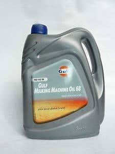 Vacuumpompolie 4 liter Gulf Milking Machine Oil