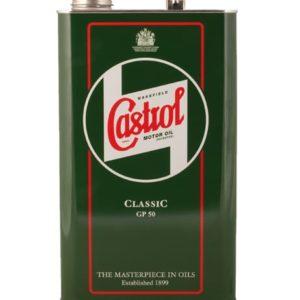 CASTROL CLASSIC MOTOROIL GP Motorolie - SAE 50 - 5 Liter