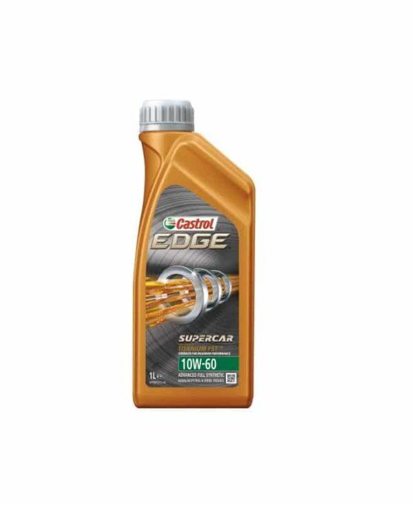 Castrol Edge Supercar (voorheen Edge 10W60) Motorolie - 10W60 Titanium FST - 1 Liter