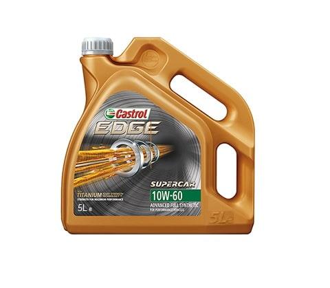 Castrol Edge Supercar (voorheen Edge 10W60) Motorolie - 10W60 Titanium FST - 5 Liter