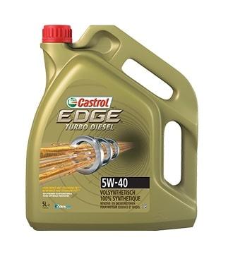 Castrol Edge Turbo Diesel - 5W40 FST - 5 Liter