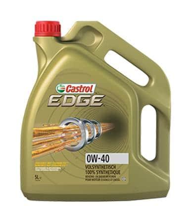 Castrol Edge (voorheen Edge Sport) Motorolie - 0W40 Titanium FST - 5 Liter