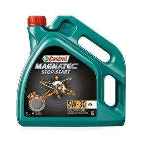 Castrol Magnatec Stop Start Motorolie (voorheen Magnatec 5W30 A5) - 5W30 A5 - 5 Liter