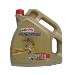 Castrol Power RS (voorheen ACT EVO) 4T Motorolie - 20W50 - 4 Liter