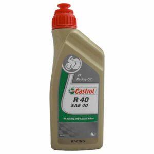 Castrol R40 SAE 40 Racing Oil - Motorolie - 1 Liter