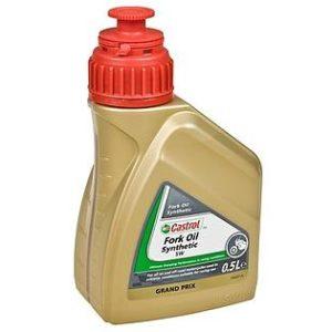 Castrol Synthetic Fork Oil SAE 5W - Schokbrekerolie - 0.5 Liter