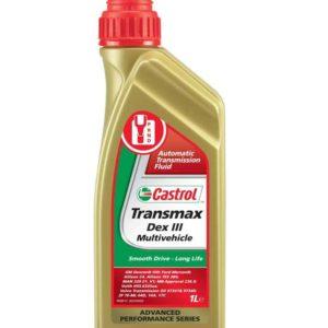 Castrol Transmax Dex III Multivehicle - Automatische Transmissievloeistof - 1 Liter