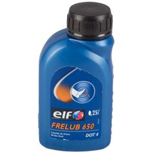 Elf Frelub 650 DOT 4 - Remvloeistof - 0.25 Liter