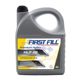 First Fill Premium Hydro HLP 46 - Hydrauliekolie - 4 Liter