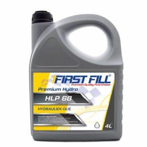 First Fill Premium Hydro HLP 68 - Hydrauliekolie - 4 Liter