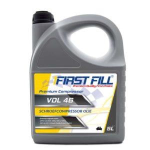 First Fill Premium Schroefcompressoroil VDL 46 - Compressorolie - 5 Liter