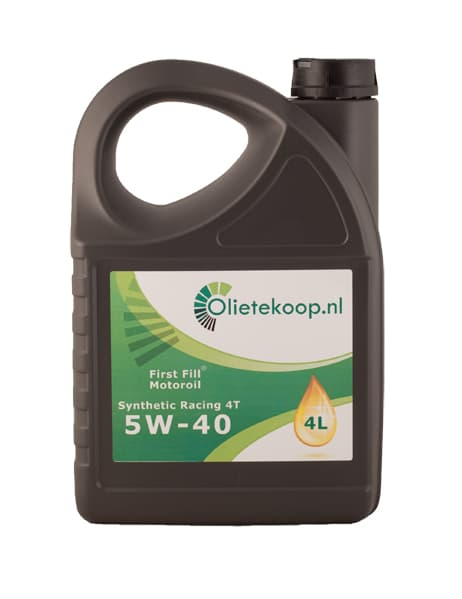 First Fill Synthetic Racing 4T Motorolie - 5W40 - 4 liter