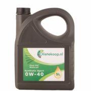 First Fill Synthetic Sport 0W40 – Motorolie – 5 Liter