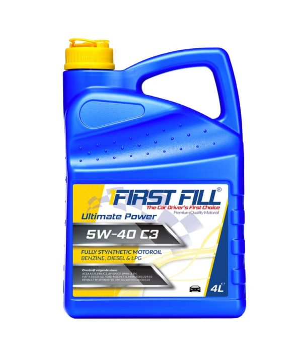 First Fill Ultimate Power (Fully Synthetic) Motorolie - 5W40 - 4 liter