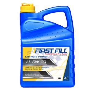 First Fill Ultimate Power Motorolie - 5W30 LL - 4 liter
