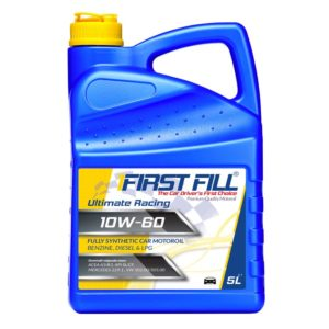 First Fill Ultimate Racing (Synthetic Sport) - 10W60 - 5 liter