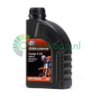 Fuchs Silkolene Comp 4 SX 10W40 Off Road - Motorolie - 1 Liter