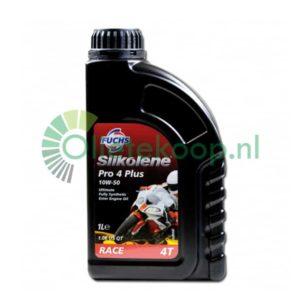Fuchs Silkolene Pro Plus 10W50 - Motorolie - 1 Liter