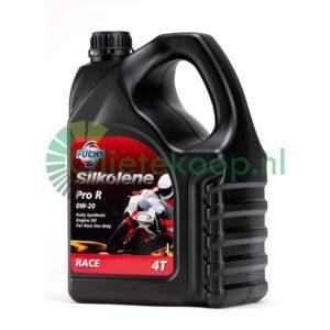 Fuchs Silkolene Pro R 0W20 - Motorolie - 4 Liter