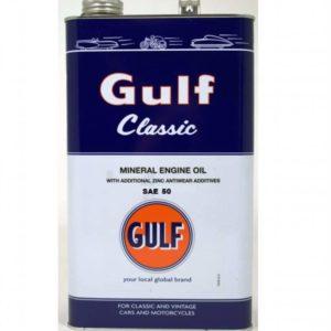 Gulf Classic SAE 50 - Motorolie - 5 Liter