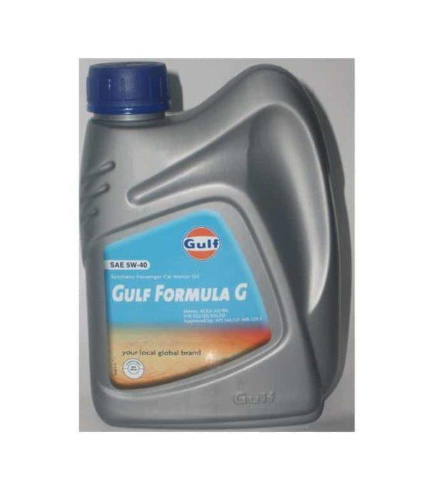 Gulf Formula G 5W40 - Motorolie - 1 Liter