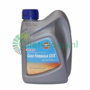 Gulf Formula GVX 5W30 (Longlife) - Motorolie - 1 Liter