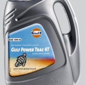 Gulf Power Trac 4T 10W40 (€4.99 incl/L) - Motorolie - 4 Liter