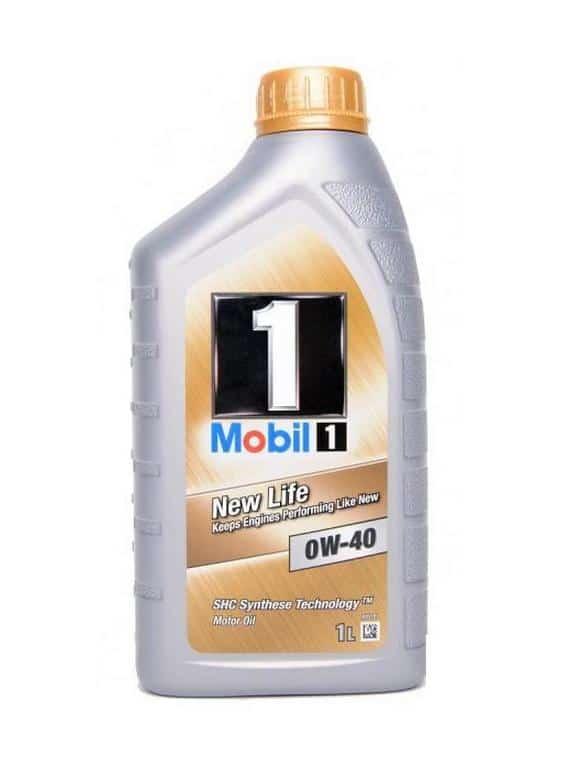 Mobil 1 FS 0W40 (opvolger New Life) - Motorolie - 1 Liter