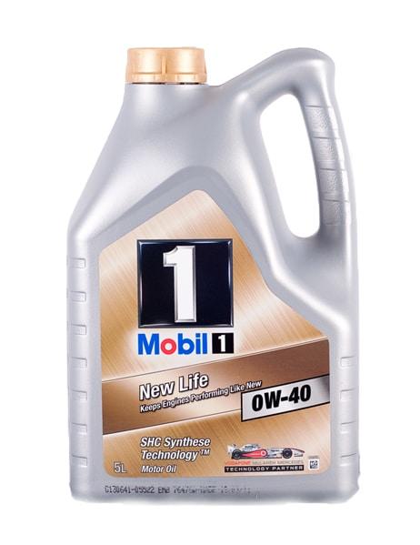 Mobil 1 FS 0W40 (opvolger New Life) - Motorolie - 5 Liter