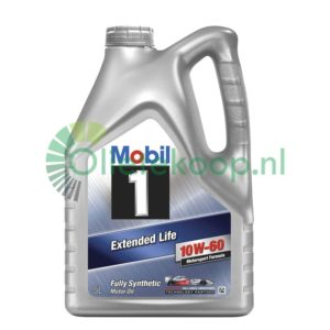 Mobil 1 Motorsport Formula 10W60 (voorheen Extended Life) - Motorolie - 5 Liter