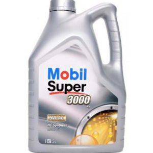 Mobil Super 3000 X1 5W40 - Motorolie - 5 Liter
