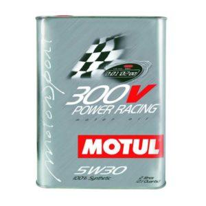 Motul 300V Power Racing 5W30 - Smeermiddel - 2 Liter