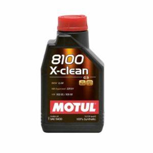 Motul 8100 Xclean+ 5W30 - Motorolie - 1 Liter