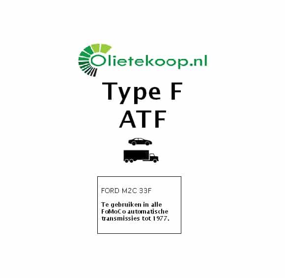 OTK Type F ATF - Automatische Transmissievloeistof - 5 Liter