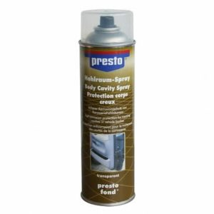 Presto Holle Ruimten Spray Transparante Corrosiebescherming (HohlraumSpray) - 500mL