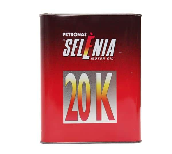 Selenia 20K 10W40 - Motorolie - 2 Liter