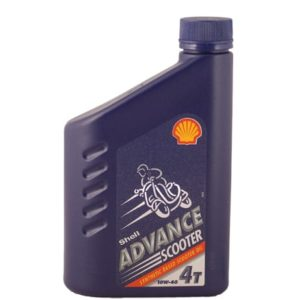 Shell Advance Scooter 4 Motorolie - 10W40 - 1 Liter