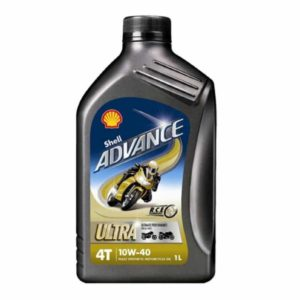 Shell Advance Ultra 4 Motorolie - 10W40 - 1 liter