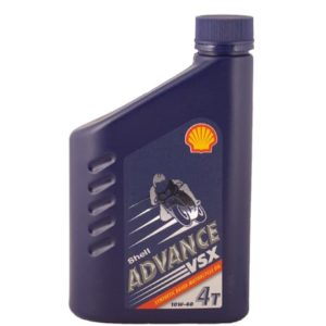 Shell Advance VSX 4 Motorolie - 10W40 - 1 liter