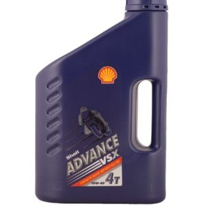 Shell Advance VSX 4 Motorolie - 10W40 - 4 liter