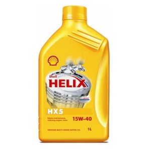 Shell Helix HX5 (voorheen Super) Motorolie - 15W40 - 1 Liter