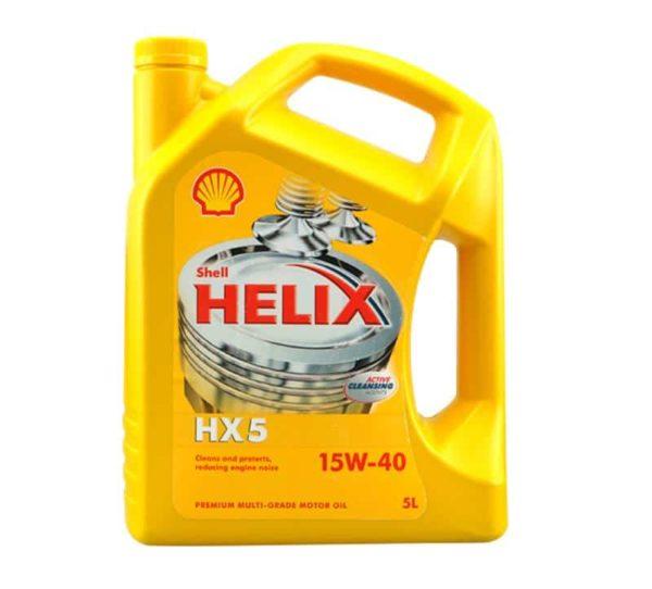 Shell Helix HX5 (voorheen Super) Motorolie - 15W40 - 5 Liter