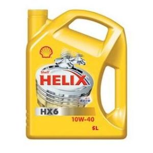 Shell Helix HX6 10W40 - Motorolie - 5 Liter