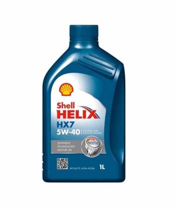 Shell Helix HX7 (C)(voorheen Plus) Motorolie - 5W40 - 1 liter