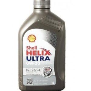 Shell Helix Ultra 0W30 ECT C2 / C3 (VW, BMW, Mercedes Longlife) - Motorolie - 1 Liter