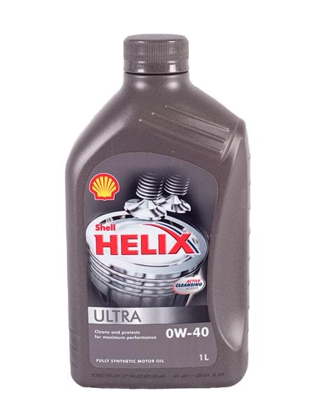 Shell Helix Ultra Motorolie - 0W40 - 1 Liter