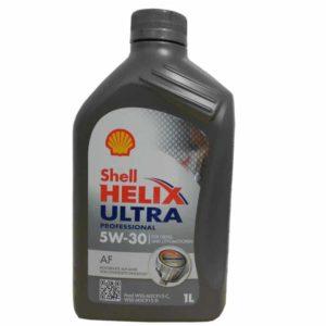 Shell Helix Ultra Professional AF 5W30 (o.a. Ford) - Motorolie - 1 Liter