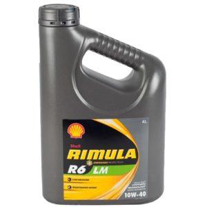 Shell Rimula R6 LM 10W40 - Motorolie - 4 Liter