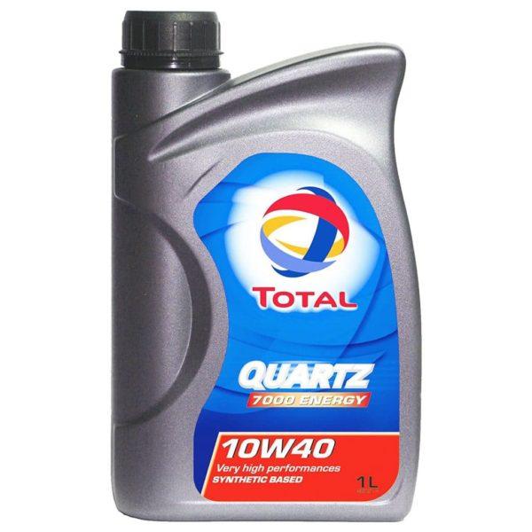 TOTAL Quartz 7000 Energy 10W40 - Motorolie - 1 Liter