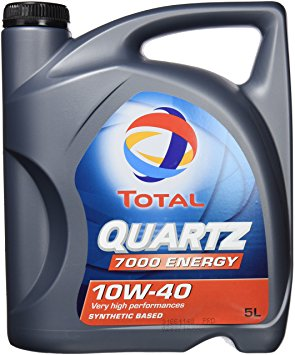 TOTAL Quartz 7000 Energy 10W40 - Motorolie - 5 Liter